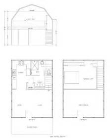Gambrel house kit with sleeping loft