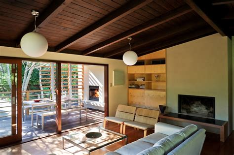 Deck Patio Designs Glade House Modern Home With Raking Ceilings And Exposed