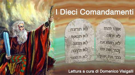 tavole dei 10 comandamenti i dieci comandamenti