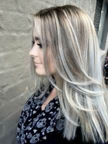hair with silver highlights 1000 ideas about silver highlights on pinterest gray