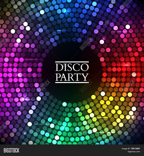 big disco light colorful disco lights vector photo free trial bigstock