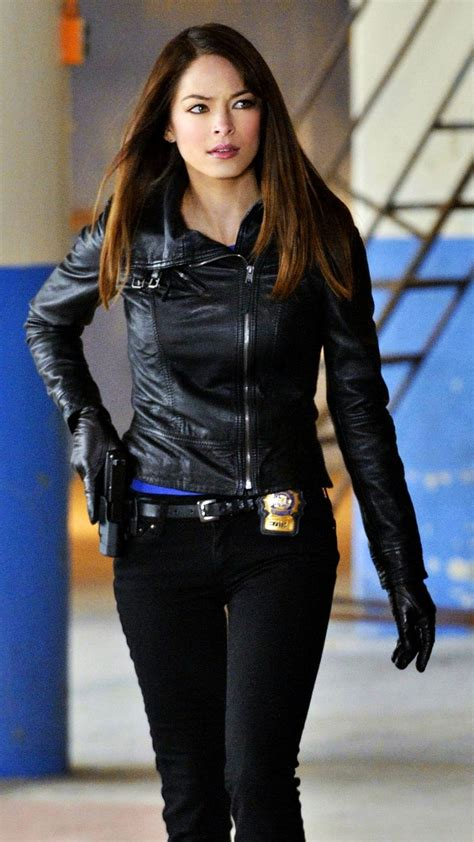 Kristin Kreuk In Cosmo Not A Photoshoot by Kristin Kreuk And The Beast Tv Series Photos