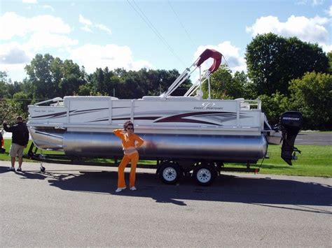 2007 used crest 2260 family fish pontoon boat for sale - Used Pontoon Boats For Sale Grand Rapids Mi