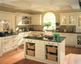 Country Kitchen Paint Color Ideas by Cream Kitchen Ideas Kitchendecorate Net