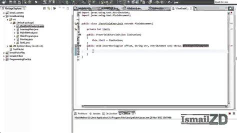 pattern url validation java java tutorial limiting chars on jtextfield using