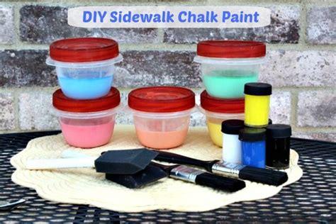 sidewalk chalk paint diy 1000 images about sizzling summer on bird
