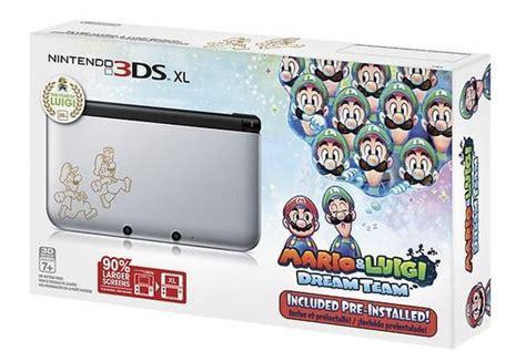 3ds Mario Reg 3 nintendo 3ds xl luigi limited edition with mario luigi