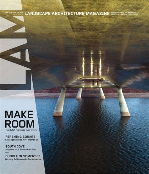 free architecture magazine magazine landscape architecture june 2016 usa read online