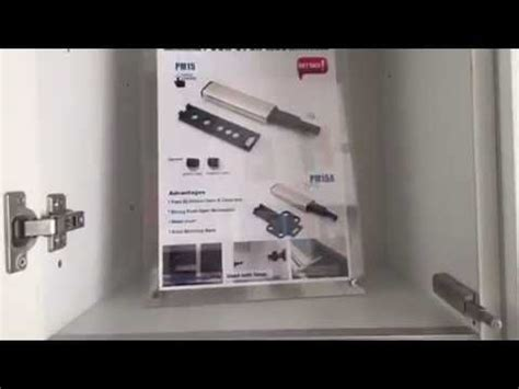 open and slide cabinet doors temax push open system mechanism for cabinet door hinge or