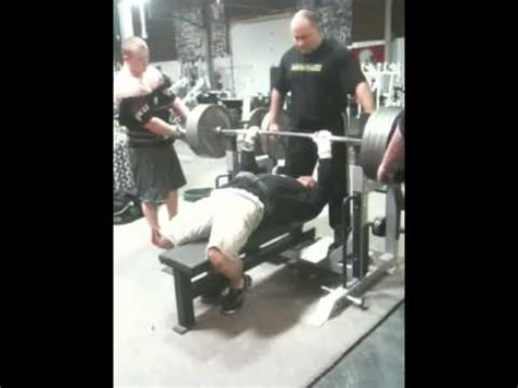 jim wendler bench press jim wendler bench press 455x1 youtube