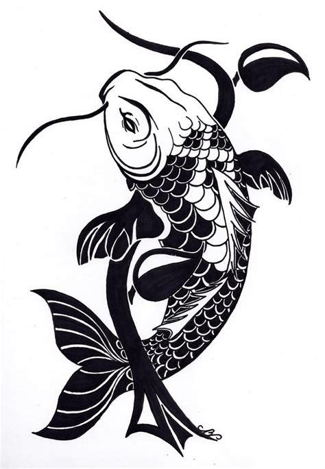 tribal koi fish tattoo designs tribal koi fish design by nikolai bartolf on deviantart