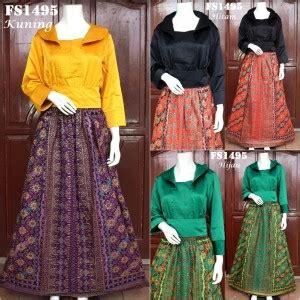 Tt204 Kalung Bros Etnik Kebaya Cantik Aksesoris Wanita Jilbab til cantik dengan baju pesta bergaya etnik fika shop