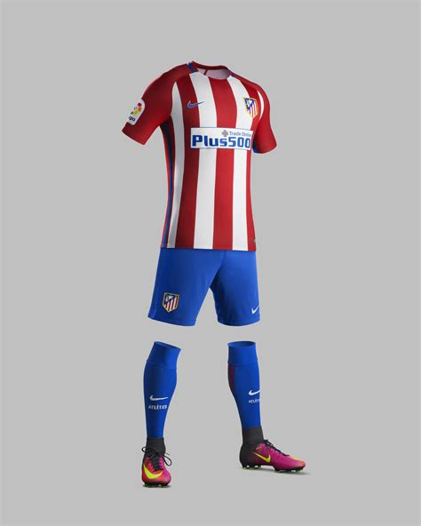 Ck Everston atl 201 tico de madrid home and away kits 2016 17 nike news