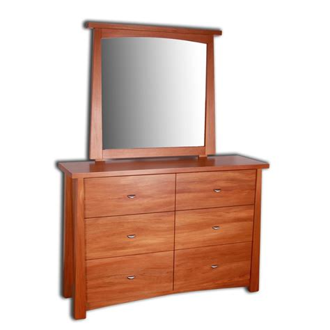 Dresser With Mirrors by Oke 6 Drawer Dresser With Mirror