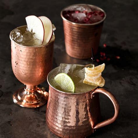 Copper Bar Glasses Copper Tumbler Williams Sonoma
