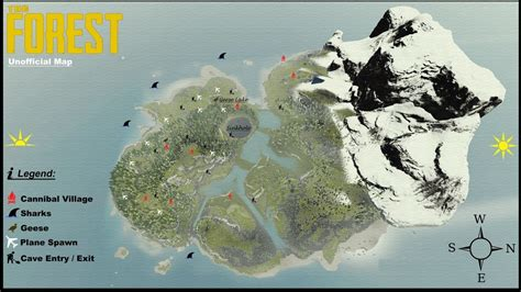 the forest map the forest map my