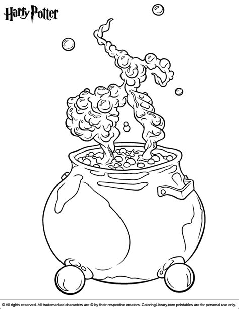 sorting hat coloring page harry potter coloring picture