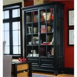 American Drew Dining Room Set Camden Black Bookcase China Cabinet 919 588