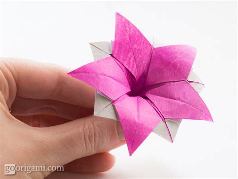 Origami Flower Leaves - origami flower www pixshark images galleries with