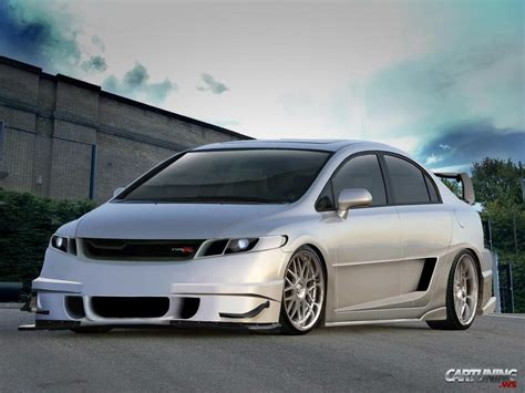 tuner honda civic tuning honda civic 187 cartuning best car tuning photos