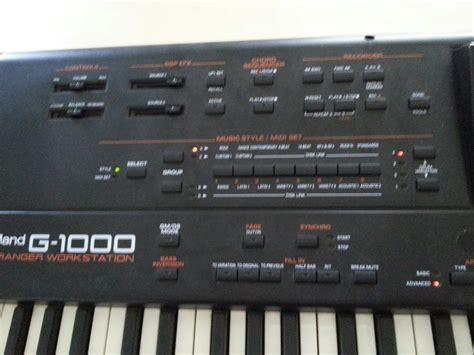 Keyboard Roland G 1000 roland g 1000 image 740878 audiofanzine