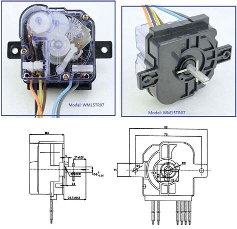 wiring diagram of washing machine timer wiring diagram