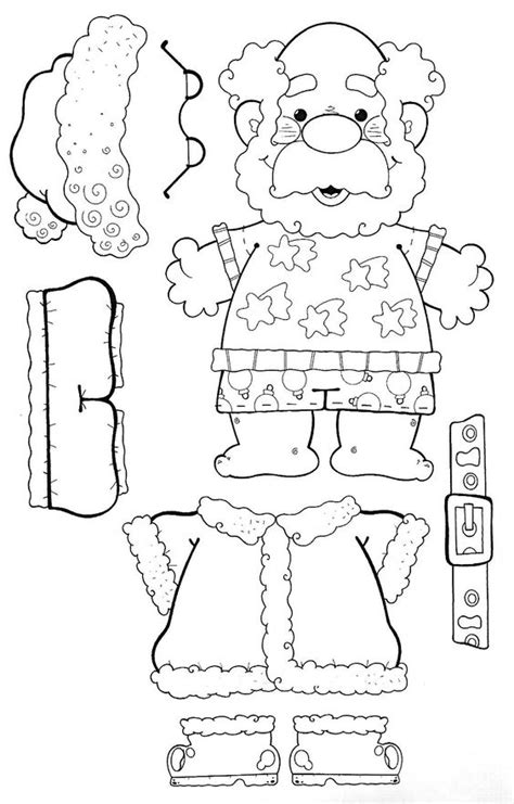free printable movable reindeer make your own santa christmas pinterest coloring