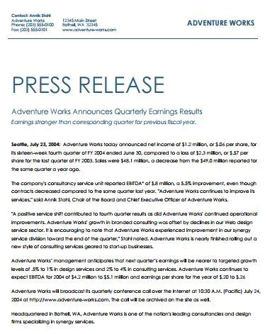 best press release template 10 best professional release writers images on