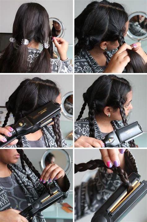 diy hairstyles curling iron diy wavy hair hair tutorials pinterest