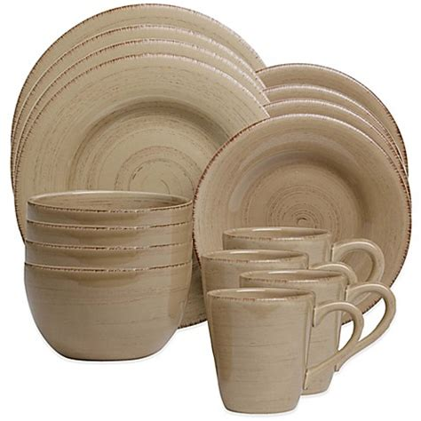 bed bath and beyond dinnerware sonoma dinnerware in tan bed bath beyond