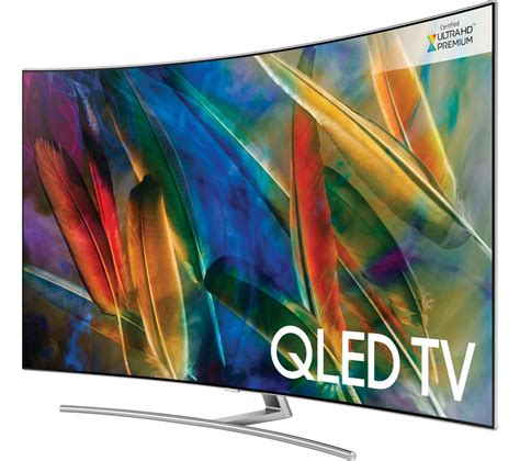 samsung 75 4k buy samsung qe75q8camt 75 quot smart 4k ultra hd hdr curved qled tv free delivery currys