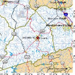 map of brevard carolina brevard carolina nc population data races