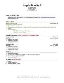 sle academic resume for college application resume for a college student 46 images