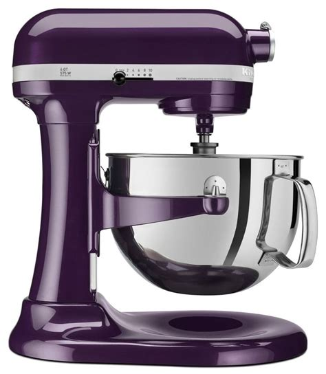 Kitchenaid Mixer Lavender New Kitchenaid Pro 600 6 Quart Mixer Plum Berry Purple