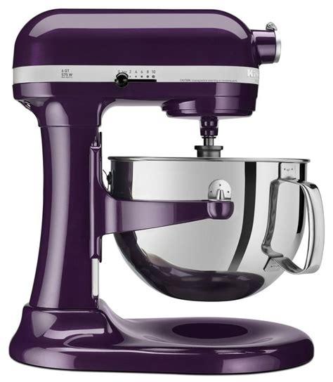 kitchenaid pro   quart mixer plum berry purple