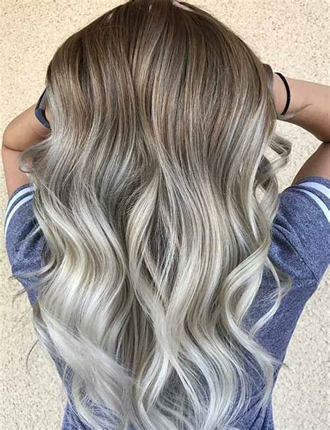 ash blond har on top dark on bottom top 25 light ash blonde highlights hair color ideas for