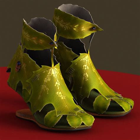 leaf shoes leaf shoes wearable arts