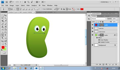 tutorial kartun vektor menggunakan photoshop tutorial membuat karakter kartun menggunakan adobe