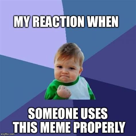 Success Kid Meme Maker - success imgflip