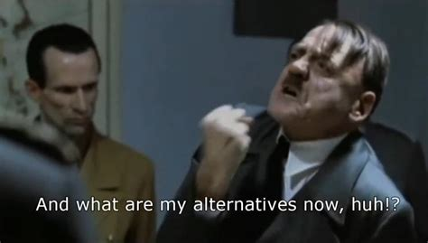 hitler reacts to google reader shut down in funny meme video