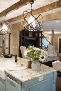 Island Kitchen Lighting Fixtures by 20 Gorgeous Kitchens With Islands Messagenote