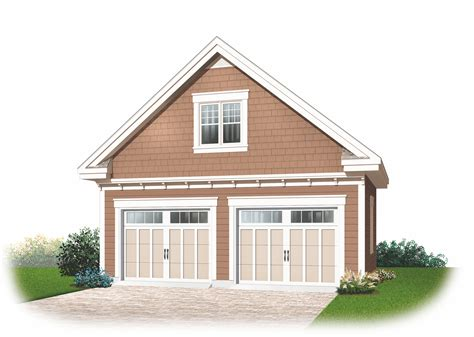 House Garage Plans by Garage Plans With Loft And House Plans From Design