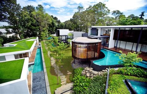 Home Interiors Puerto Rico Screen House By K2ld Architects Exotic Modern Mansion In