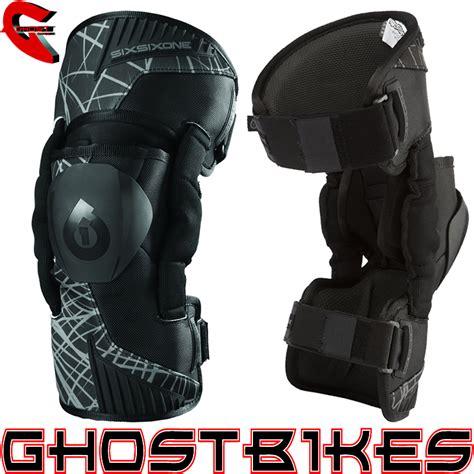 sixsixone motocross sixsixone 661 cyclone wired motocross mx enduro knee brace