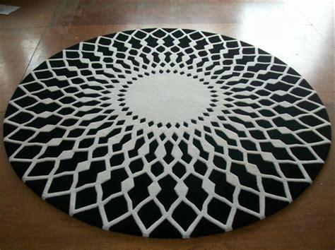 schwarzer runder teppich runder teppich 30 neue vorschl 228 ge archzine net