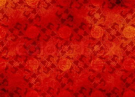 joy luck club theme song chinese red textured pattern in filigree for background or