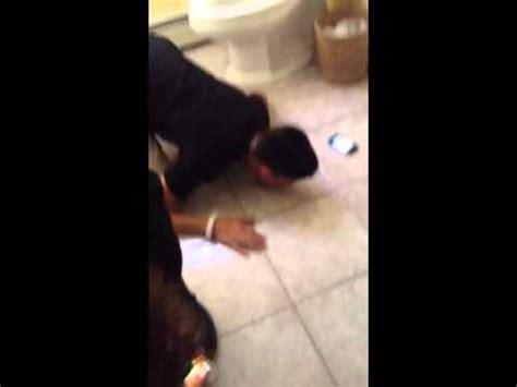lick in bathroom crazy dude lick bathroom floor youtube