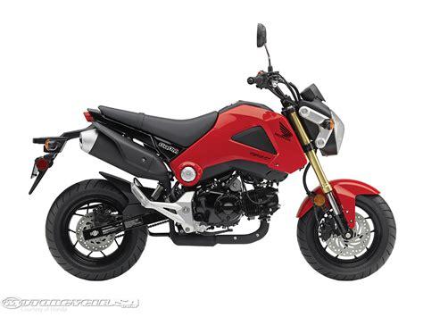 Honda Motorrad Rot by 2014 Honda Grom Look Motorcycle Usa