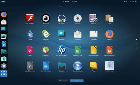 apricity themes gnome rosa desktop fresh gnome r7 out now switches to korora s