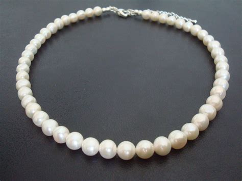 bridal necklace wedding necklace pearl and
